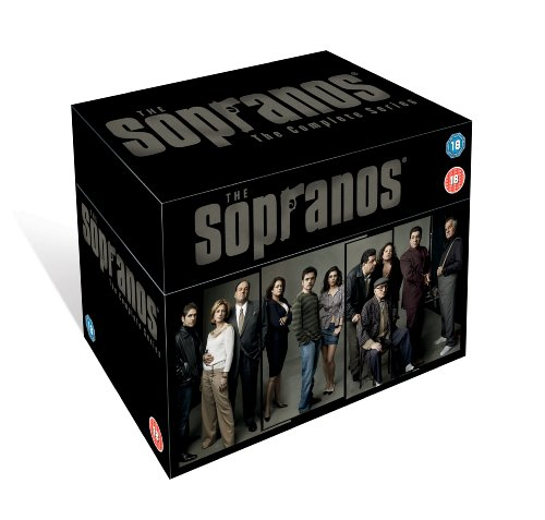 The Sopranos - HBO Complete Season 1-6 (New Packaging)
