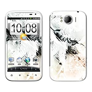 Diabloskinz B0070-0034-0005 Chrome Vinyl Skin für HTC Sensation XL