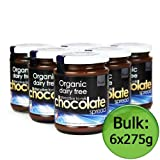 Plamil Organic Chocolate Spread - Alternative to Milk 6x275g