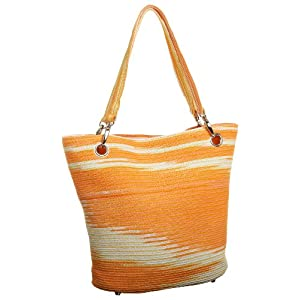 Magid Tie-Dyed Paper Straw Shopper