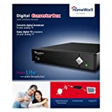 Homeworx HW100STB ATSC Digital Converter Box with Analog Pass Through