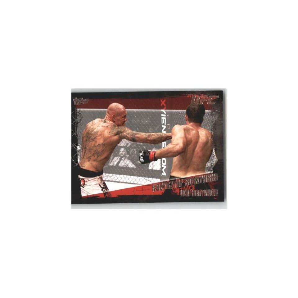 2010 Topps UFC Trading Card # 95 Krzysztof Soszynski