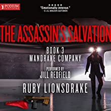 The Assassin's Salvation: Mandrake Company, Book 3 Audiobook by Ruby Lionsdrake Narrated by Jill Redfield