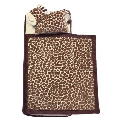 Lambs & Ivy Giraffe Luxury Nap Mat