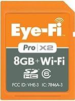 Eye Fi Pro X2 Carte memoire SD Wifi 8 Go