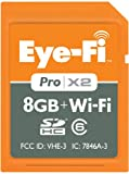 Eye-Fi Pro X2 8 GB Class 6 SDHC Wireless Flash Memory Card EYE-FI-8PC