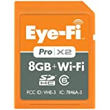Eye-Fi Pro X2 Secure Digital High Capacity (SDHC) 8GB Speicherkarte mit Wi-Fivon &#34;Eye-Fi&#34;
