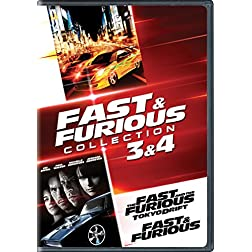 Fast & Furious Collection: 3 & 4 (The Fast and the Furious: Tokyo Drift / Fast & Furious (2009))
