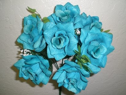 Silk Flower Petals on Silk Flower Bouquets   Silk Wedding Flowers   Wedding Silk Flowers