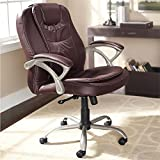 Plus+Size Living Brylanehome Extra Wide Deluxe Padded Office Chair With Metal Base