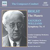 [自作自演]ホルスト: 組曲「惑星」(ホルスト指揮)/ヴォーン=ウィリアムズ:交響曲第4番(ヴォーン=ウィリアムズ指揮)