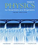 img - for Physics for Scientists and Engineers, Vol. 3: Ch. 39-45 (3rd Edition) book / textbook / text book