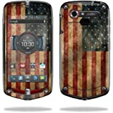 4G LTE C811 GZ1 Verizon Cell Phone wrap sticker skins Vintage Flag