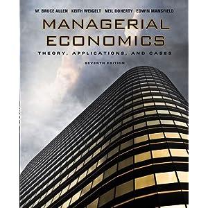 managerial economics analysis problems cases pdf