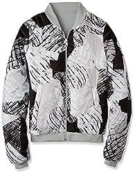 UCB Women's Jacket (15A2JY5E9463I901_White and Black _44)