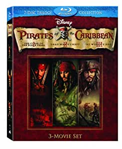 Pirates Of The Caribbean 7-Disc BD [Blu-ray]