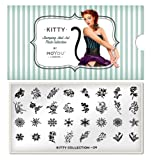 MoYou-London Nail Art Image Plate Kitty Collection - 09