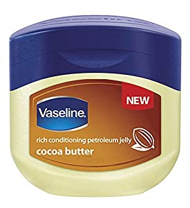 Vaseline rich conditioning petroleum jelly, cocoa butter moisturiser- 220 ml