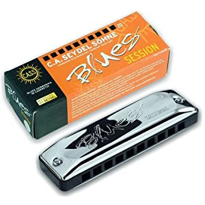 SEYDEL BLUES SESSION! D-Major LOW TUNING! - Made in Germany by the world's oldest harmonica manufacturer!
