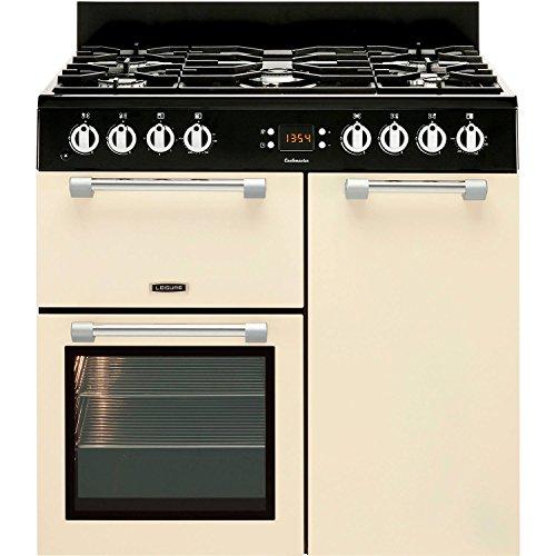 Leisure CK90G232C Cookmaster 90cm Gas Range Cooker Cream