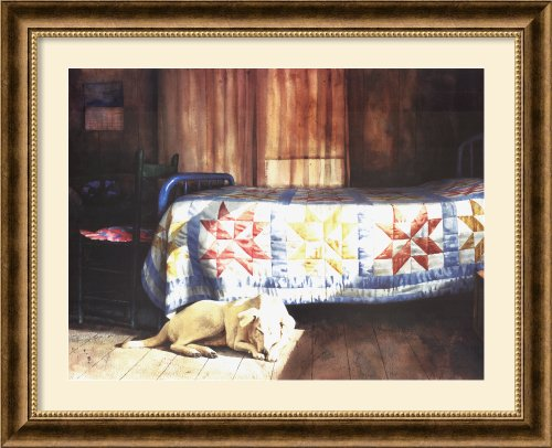 Dog Nap By Mark A. Stewart Framed front-972376