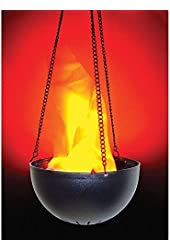 Lightahead® Hanging Flame Light with UL adaptor Realistic fire effect