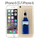 iPhone 6/6s - Liquid 3D Cocktail Bottle Soft Back Cover for iPhone 6 & iPhone 6s - BLUE