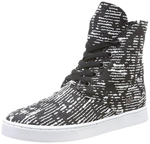 Supra  Joplin,  Sneaker donna Nero Noir (Black/Pattern/White) 41