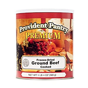 Provident Pantry® Freeze Dried Ground Beef, Cooked 20 Oz. by Provident Pantry