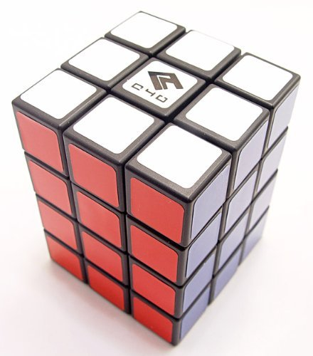 Cube4U (C4U) 3X3X4 Speed Cube Black - 1