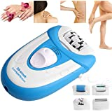 Banggood Womens Electric Shaver Hair Remover Cordless Full Body Shave Wet Dry Epilator