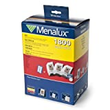Menalux 1800 VP 15 x Vacuum Bags 3 x Motor Filters 1 x Hepa 13-Filter Washable Electrolux Phillips S-Bag Models