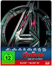Avengers - Age of Ultron 3D + 2D Steelbook [3D Blu-ray]