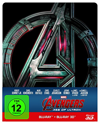 Avengers - Age of Ultron 3D + 2D Steelbook [3D Blu-ray] [Limited Edition]