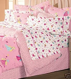 laura ashley fun fairies twin comforter set. Black Bedroom Furniture Sets. Home Design Ideas