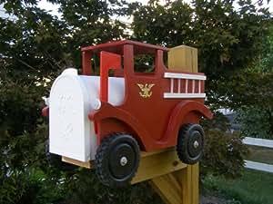 fire truck mailbox