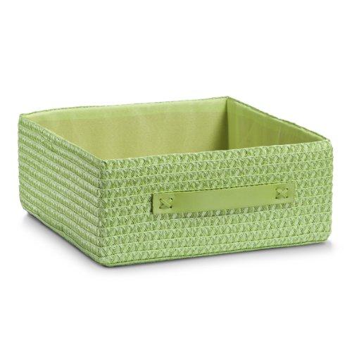 zeller-13674-woven-basket-30-x-32-x-125-green