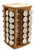 MIU France 90630 Spinning Spice Rack with 48 Jars