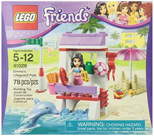 LEGO Friends 41028 Emma's Lifeguard Post - 1