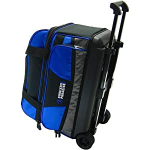 Amazon.com : BowlersParadise.com Double Roller Bowling Bag ...
