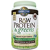 Garden of Life Raw Protein and Greens Chocolate 21.6 oz (611g) Powder