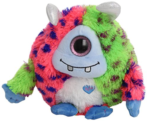 Ty Monstz Marty - Pink/blue/green Monster Medium - 1