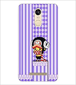 PrintDhaba Cartoon D-1959 Back Case Cover for XIAOMI REDMI NOTE 3 (Multi-Coloured)
