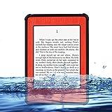 (Surprised) Professional Waterproof Design Case for Kindle Paperwhite 6 - Waterproof Dirtproof Snowproof Shockproof Hard Armor Defender Case Box Hard Tablet Shell for Amazon Kindle Paperwhite 6(does Not Fit Kindle or Kindle Touch) (4 Red)