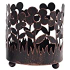 Hosley's 4.5 High Bronze Candle Sleeve