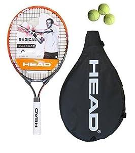 "Head Radical 23"" Junior Tennis Racket + 3 Tennis Balls RRP £45 by Head"