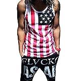 MIOIM メンズ タンクトップアメリカ風 男性用 スポーツウェア アメリカ風 夏 男子訓練用 ベスト ボディービル カジュアル プライマーシャツ