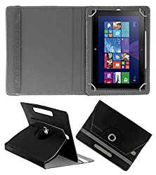 ACM ROTATING 360° LEATHER FLIP CASE FOR NOKIA LUMIA 2520 TABLET STAND COVER HOLDER BLACK
