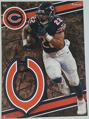 "Matt Forte 2014 NFL Fathead Tradeables 5"" x 7"" Chicago Bears - #6"