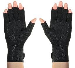 Thermoskin Premium Arthritic Gloves, Black, Small